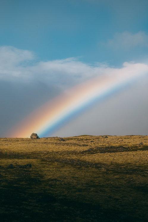 Arc en ciel Islande