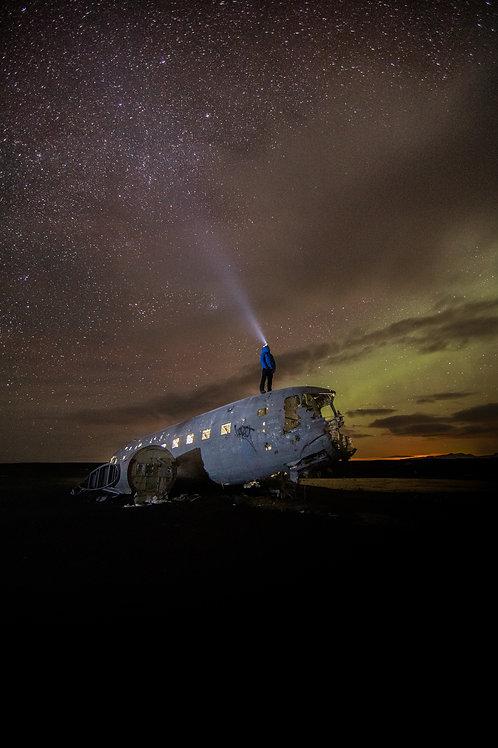 Epave avion Aurore Islande