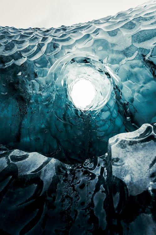 Trou glace large Islande