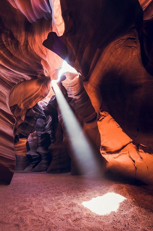 Antelope Canyon Puit de lumière Arizona