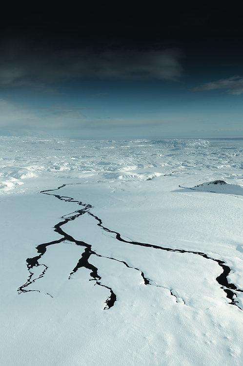 Rivière blanche Islande