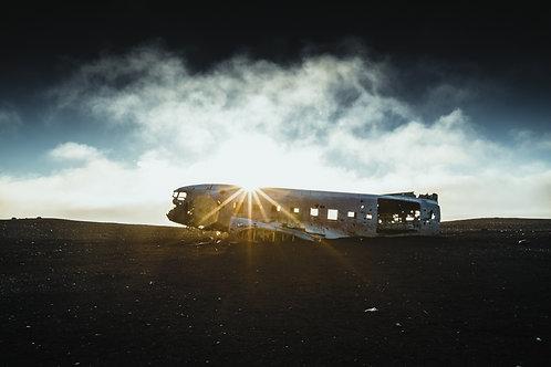 Epave avion 3 Islande