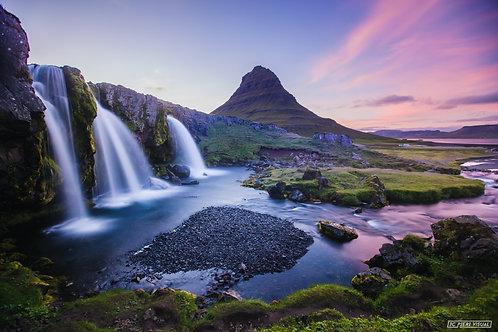 Cascade Kirkjufellfoss Islande