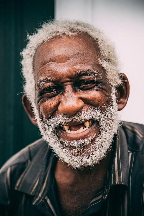 Potrait homme Cuba