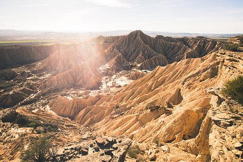 Desert Bardenas Espagne