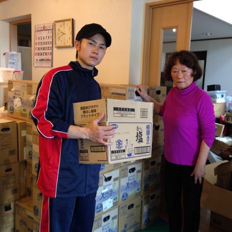 熊本に支援物資を届けに行きました‼