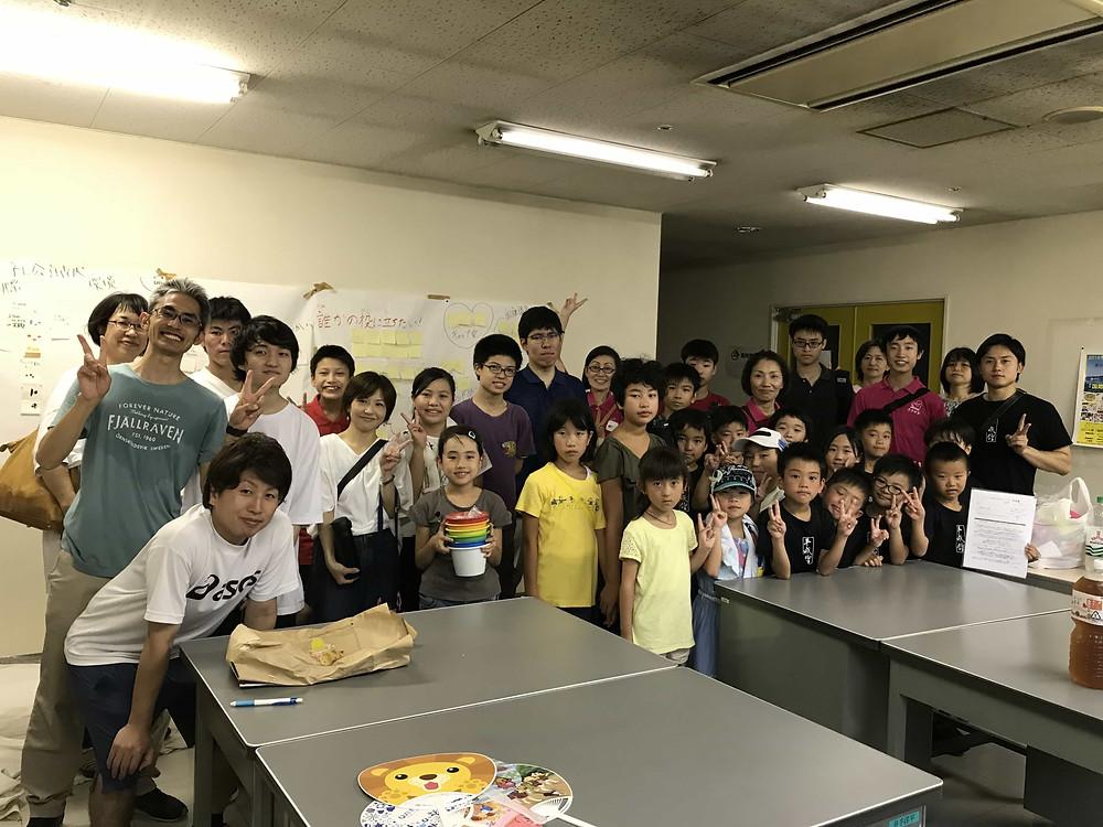 大牟田市スポーツ教室平成館ボランティアボランティア活動