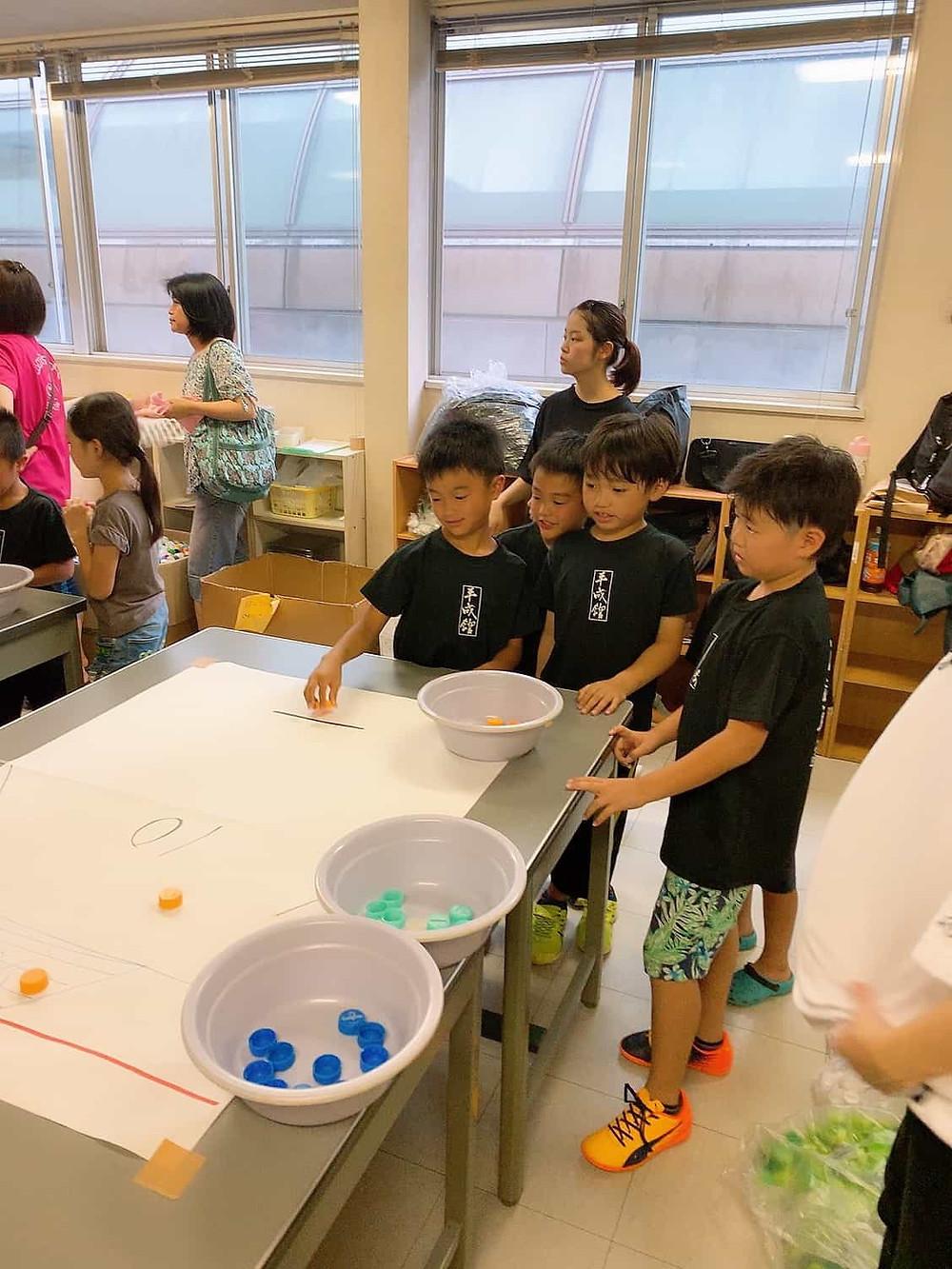 大牟田市スポーツ教室平成館ボランティア活動