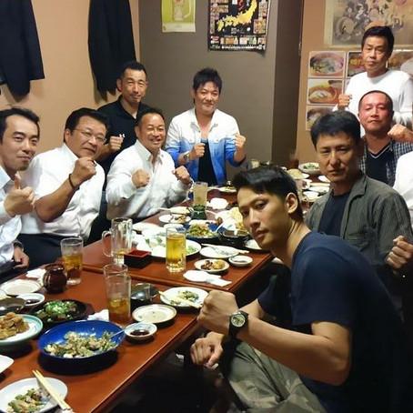 福岡県フルコンタクト空手道連盟の会合