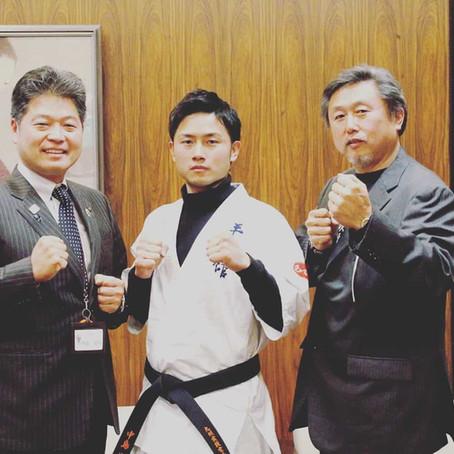 【お知らせ】大牟田市の副市長を表敬訪問
