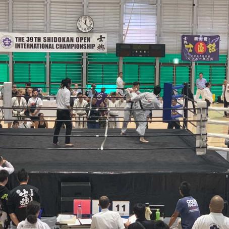 国際大会 師範代3位+敢闘賞受賞