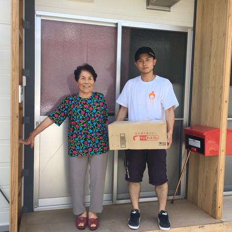 熊本でボランティア活動を行いました。