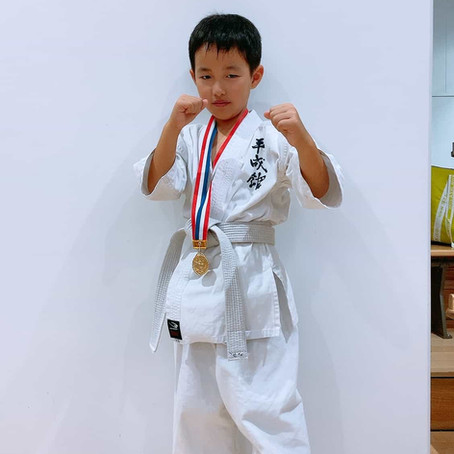 小学3年生 ワンマッチ勝利 久留米勇真会大会