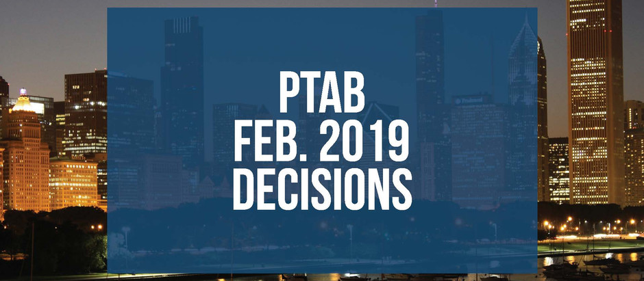 Illinois Property Tax Appeals Board publishes February 2019 Decisions