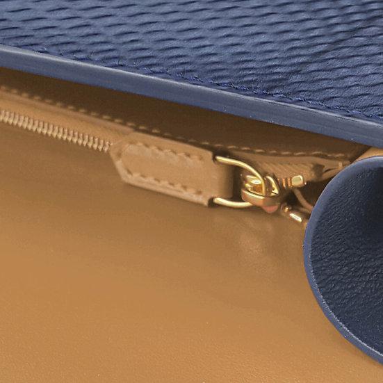 Valmont python navy blue/camel