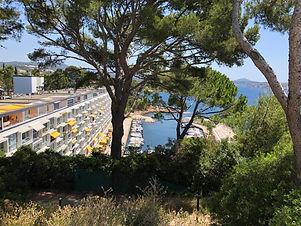 athena port plage privée