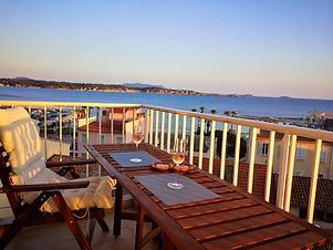 vue mer Airbnb