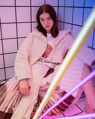 10.Jacket Mo&Co, skirt and t-shirt Editi