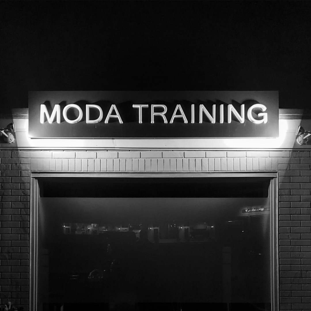 Moda Training, a private training studio in New Canaan, CT.