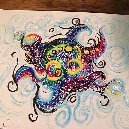 cuteLittleOctopus print