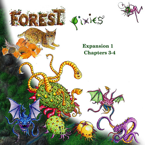 Forest: Pixies (chapters 3-4)