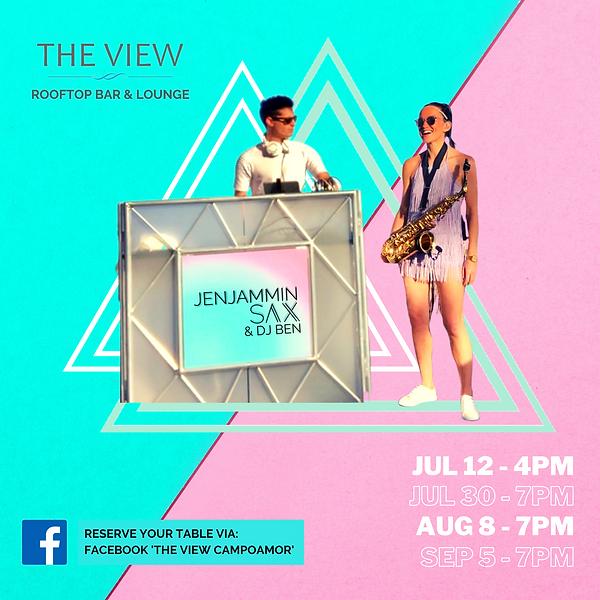 The View Dates - JenJammin Sax & DJ Ben