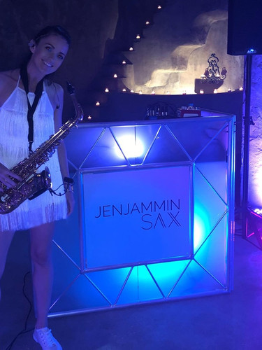 JenJammin Sax - house music saxophonist Spain