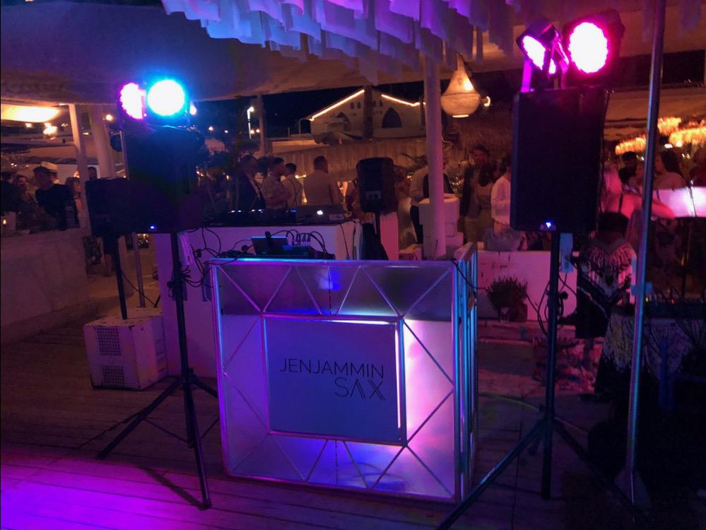 DJ & Sax - wedding entertainment Javea, Spain