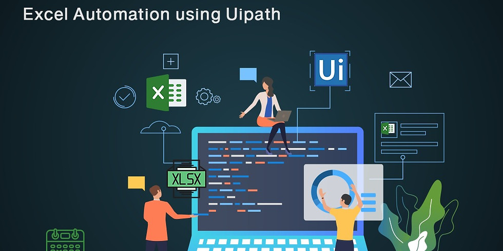 الأتمتة الذكية للعمليات لمهام مايكروسوفت اكسل باستخدام  Uipath