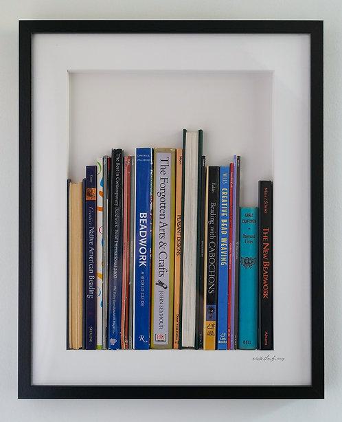 Large Vertical Library - Beadwork