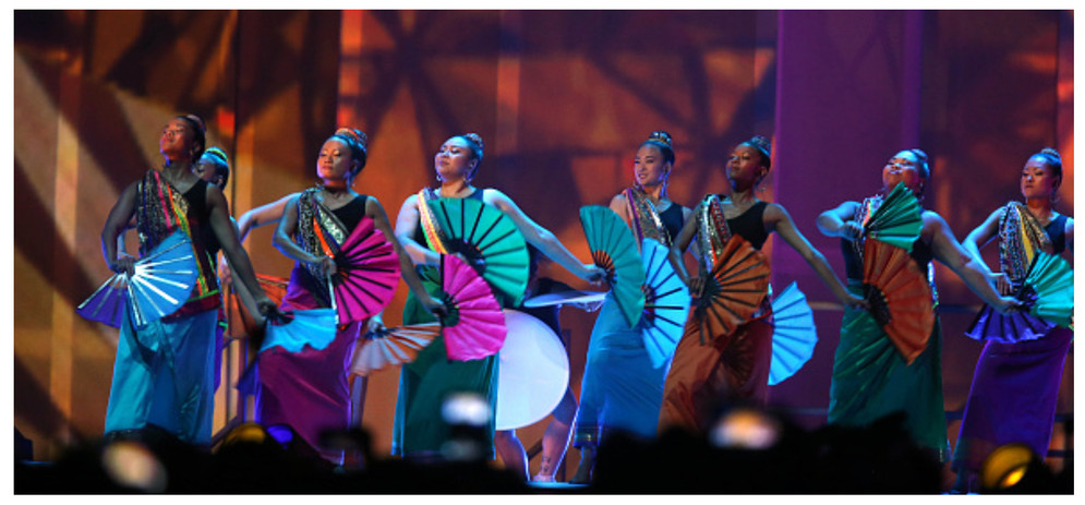 Pan Am Games Closing Ceremonies - Filipino Fan Dancers
