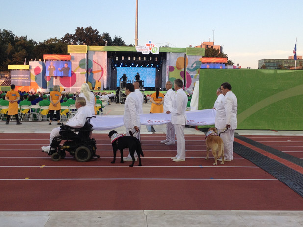 Para Pan Am Games - Flag Bearers Opening Ceremony
