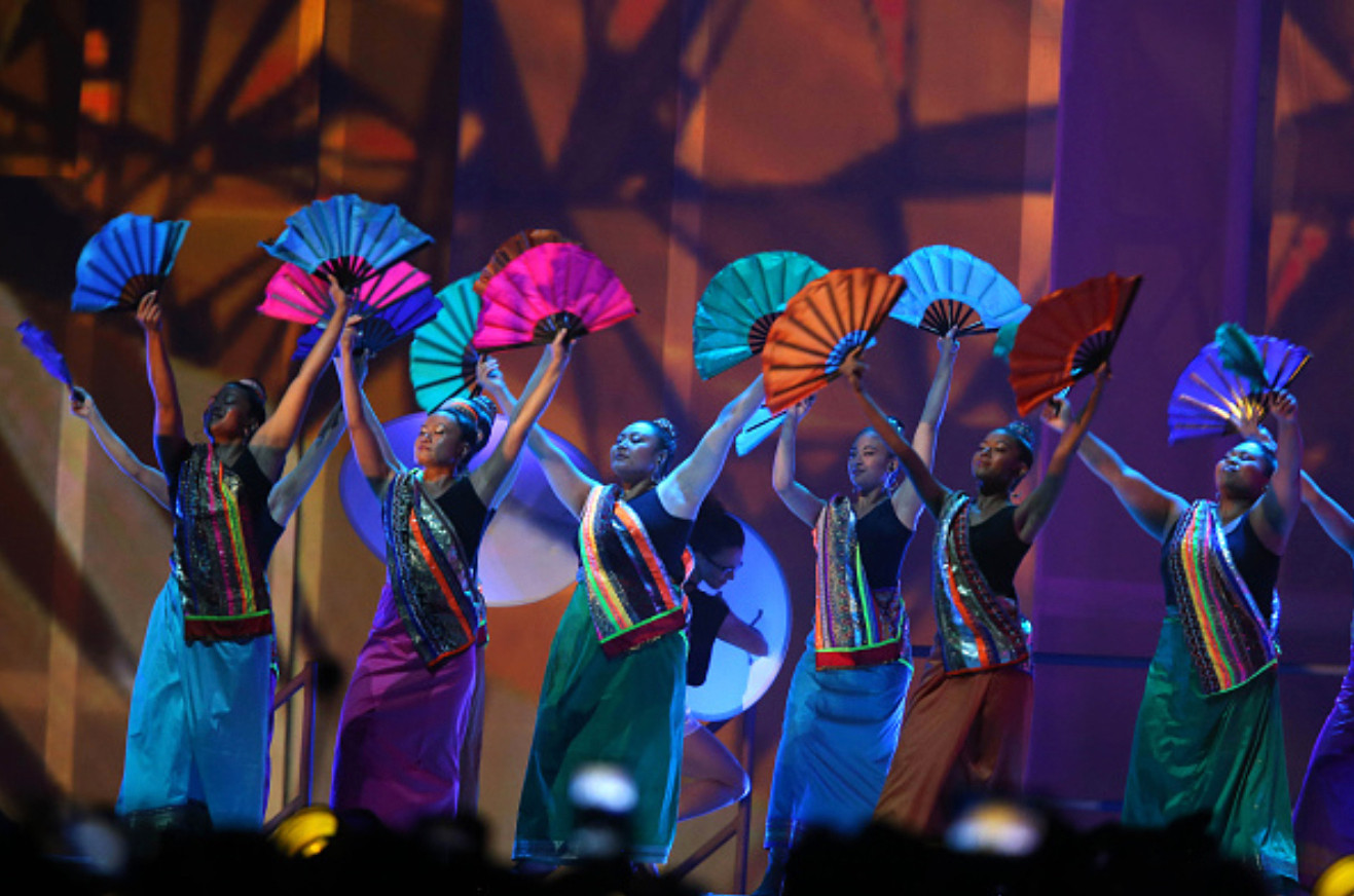 Pan Am Games Closing Ceremonies - Filipino Fan Dancers