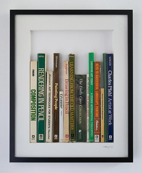 Large Vertical Library - Visual Arts