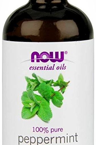 Now Essential Organic Peppermint Oil -100% pure