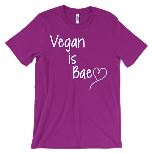 Vibrance Collection+ Love Bae Vegan Tee