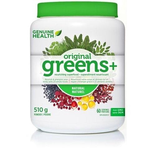 Genuine Health Original Greens+ Natural