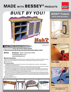 Bessey Tools Featured Woodworker | Jul 2010