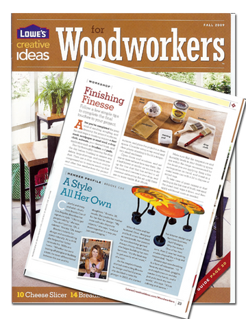 Lowe's Creative Ideas for Woodworkers Magazine | Autumn 2009