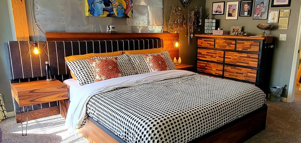 Custom Platform Bed Design