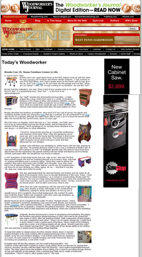Woodworker's Journal | Nov 2009