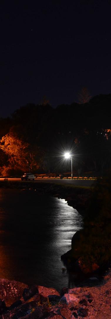 South West Rocks Creek at night