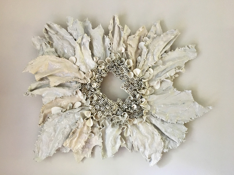 Paper Clay Wall Sculpture