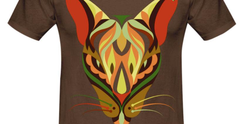 Bio Herren T-Shirt Cat