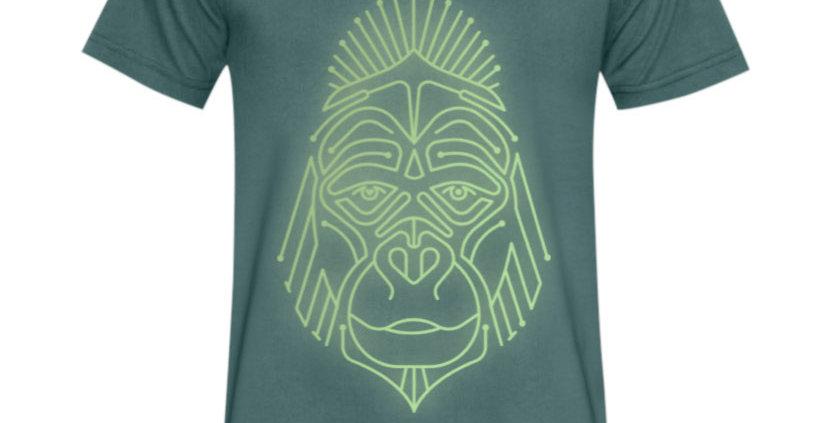 Bio Herren T-Shirt reflecting Gorilla