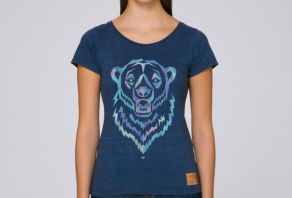 Bio T-Shirt Polar Bear blue