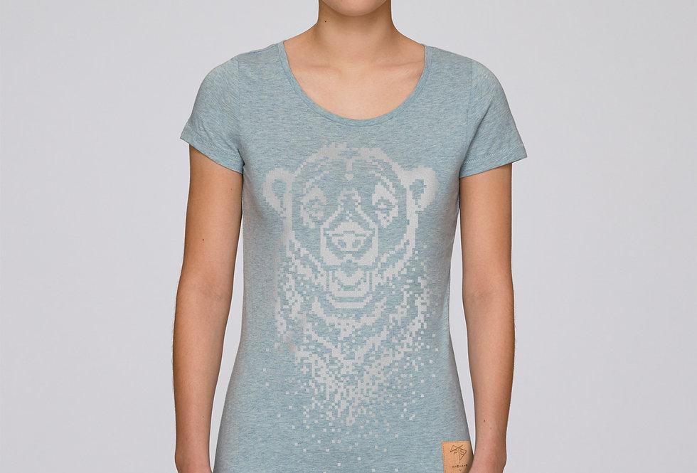 Bio T-Shirt silver Icebear