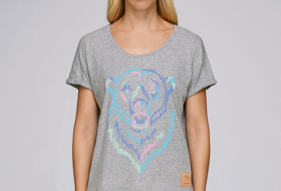 Bio T-Shirt Polar Bear grau meliert