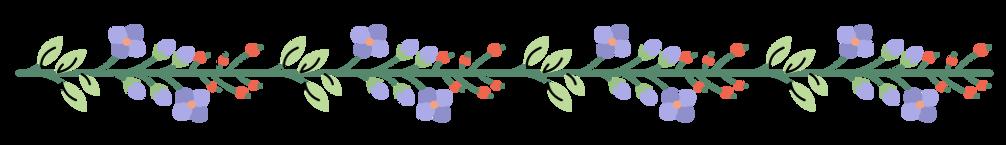 Guirnalda de flores 8
