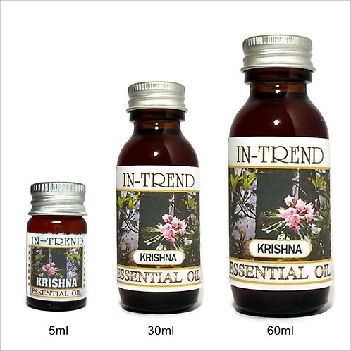 Krishna Essential Oil 100% Pure & Natural 5ml 30ml 60ml Free Shipping
